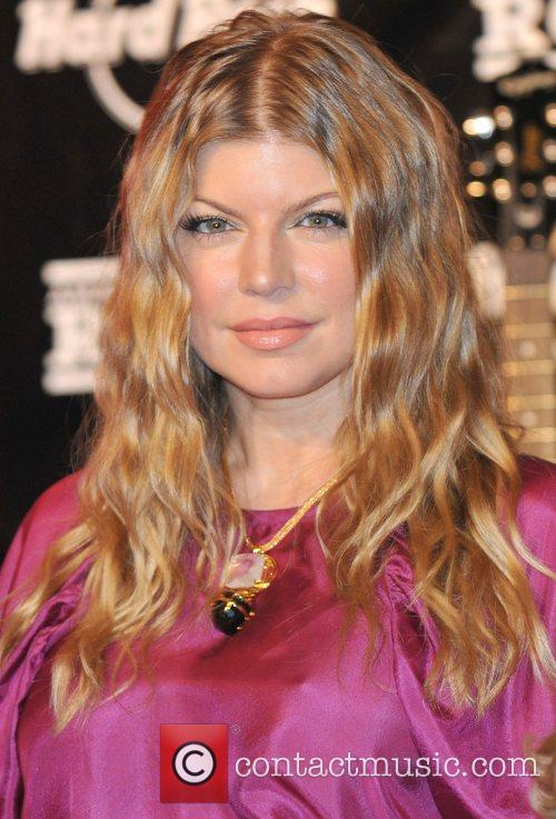 Fergie aka Stacey Ferguson appears at the Seminole...