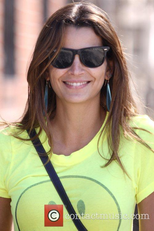 Brazilian model Fernanda Motta out and about in...