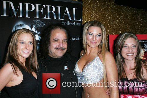Brandi Sky, Ron Jeremy, Kim Kriton and guest...