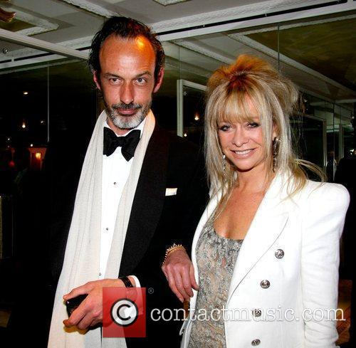 Jo Wood and Guest outside the FiFi UK...