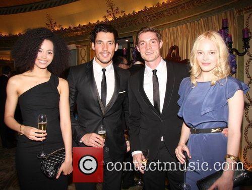 Madelaine Mantock, David Gandy, Max Brown and Annabelle...