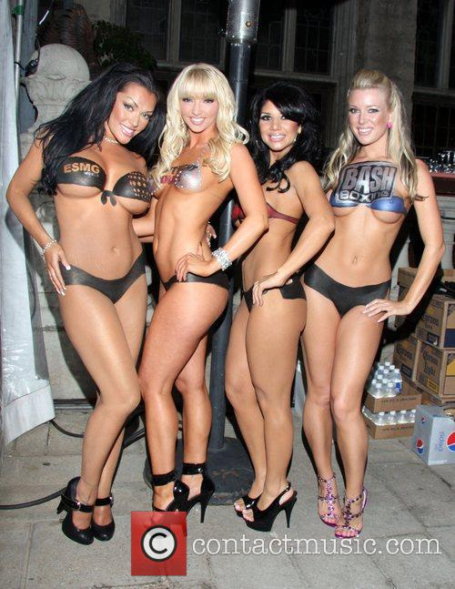 Body-painted Models, Playboy and Playboy Mansion 6