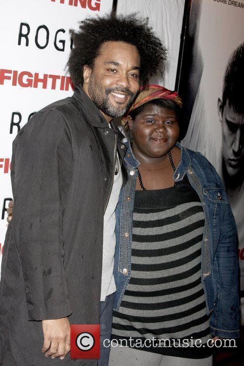 Lee Daniels and Gabourey 'gabby' Sidibe