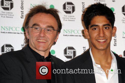 Danny Boyle and Dev Patel 2