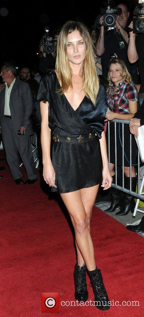 Erin Wasson at the premier of Filth and...