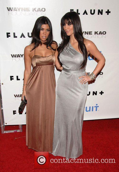 Khloe Kardashian and Kim Kardashian The 10th Anniversary...