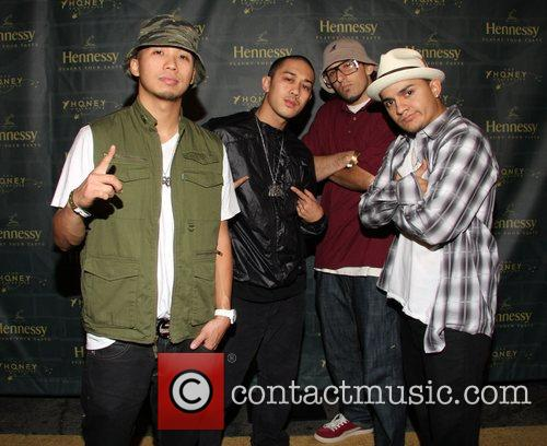 Jabbawockeez The Honey Collective and Hennessy invite you...