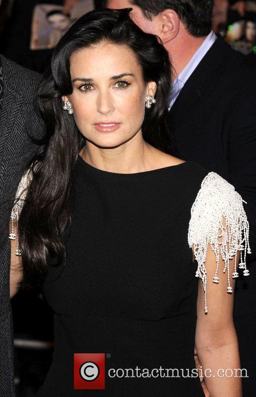 Demi Moore Flawless - UK Charity Premiere held...