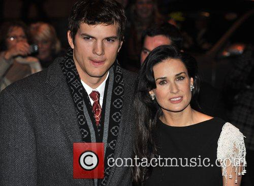 ashton kutcher flawless uk charity premiere held at the odeon