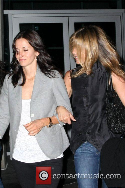 Courteney Cox and Fleetwood Mac 2