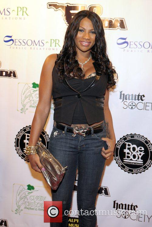 Sandra Denton, aka 'Pepa' from the hip-hop group...