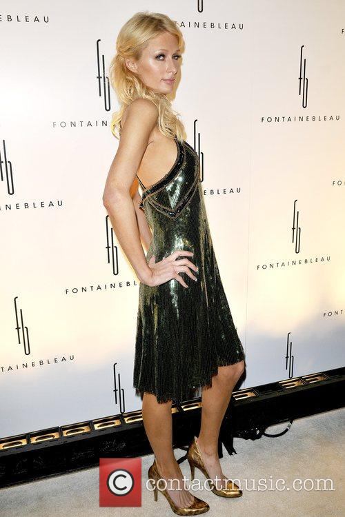 Paris Hilton  Grand Opening of the Fontainebleau...
