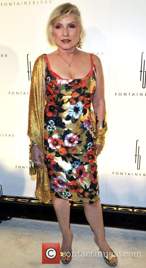 Debbie Harry Grand Opening of the Fontainebleau Miami...
