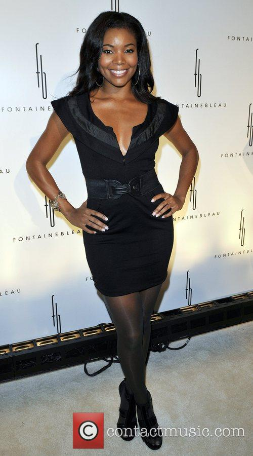 Gabrielle Union Grand Opening of the Fontainebleau Miami...