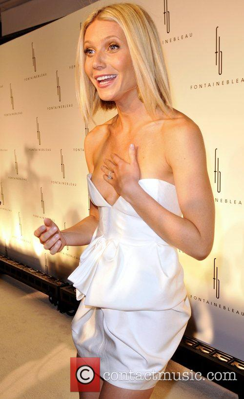 Gwyenth Paltrow Grand Opening of the Fontainebleau Miami...