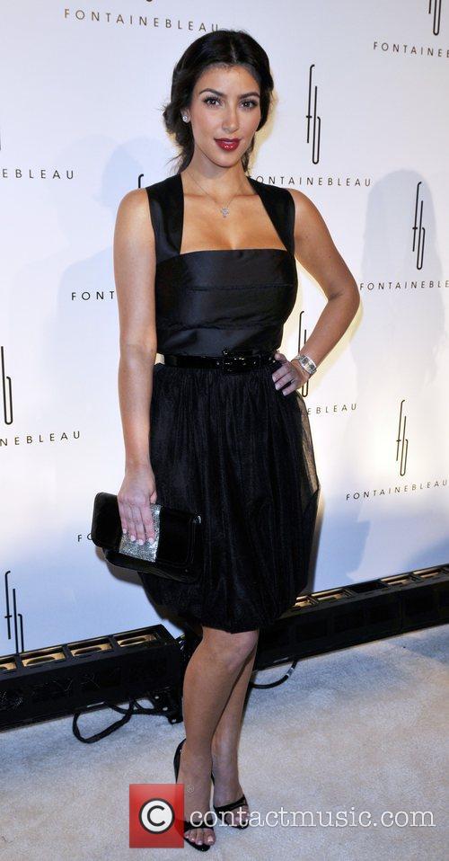 Kim Kardashian Grand Opening of the Fontainebleau Miami...