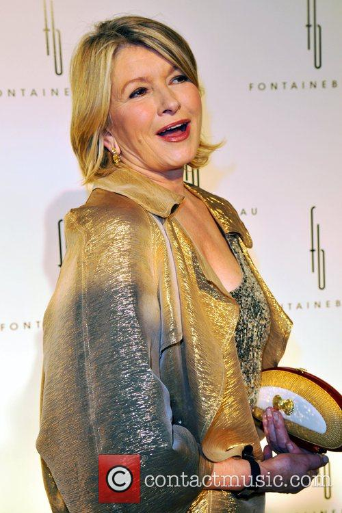 Martha Stewart Grand Opening of the Fontainebleau Miami...