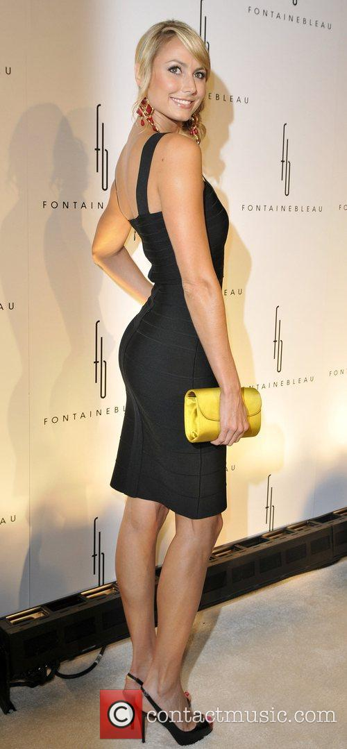Stacy Keibler Grand Opening of the Fontainebleau Miami...