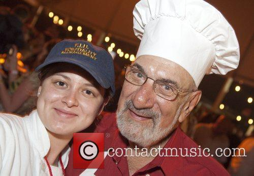 FIU School of Hospitality student Anna Abanza and...