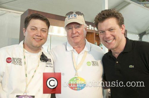 Food Network Celebrity Chef Tyler Florence (r) 2