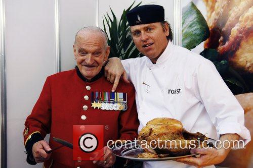 BBC Good Food Show London welcomes Chelsea Pensioners...