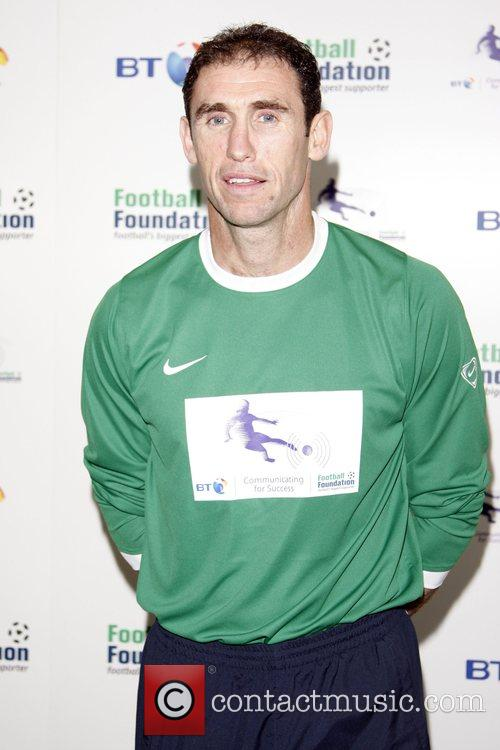Martin Keown BT and the Football Foundation launch...