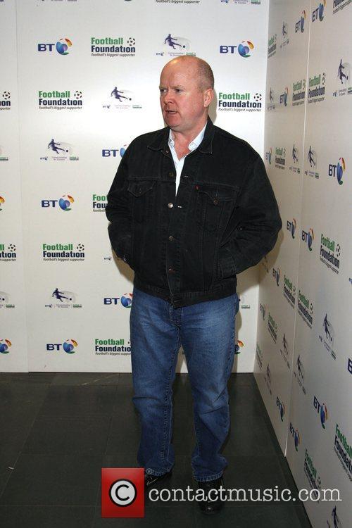 Steve McFadden BT and the Football Foundation launch...
