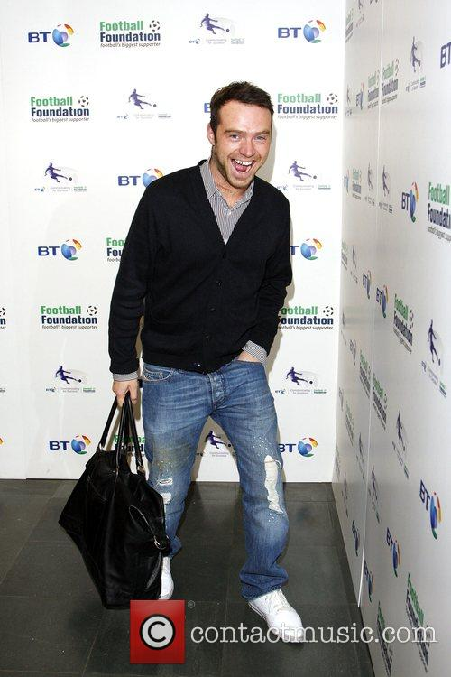 Tom Crane BT and the Football Foundation launch...