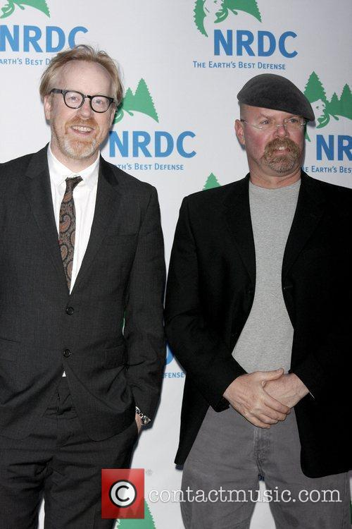 Adam Savage and Jamie Hyneman of the Mythbusters...