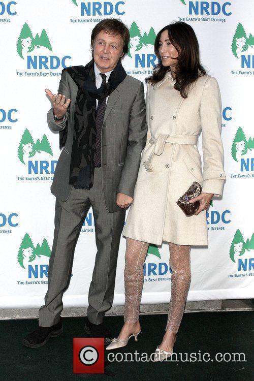 Sir Paul McCartney and Nancy Shevell 6