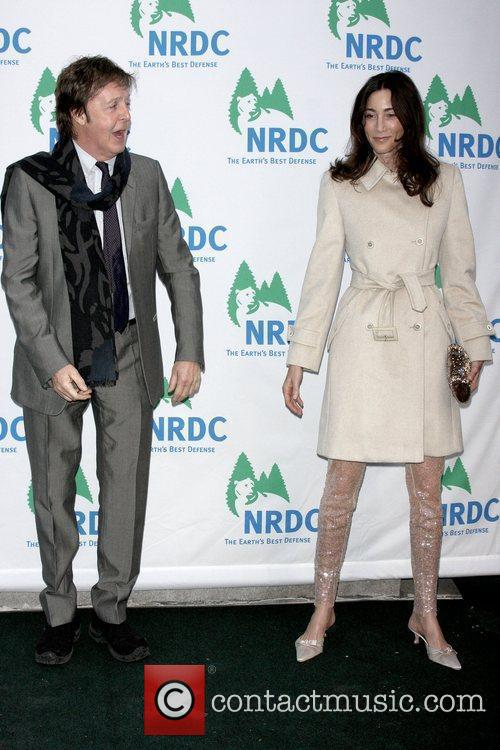 Sir Paul McCartney and Nancy Shevell 7