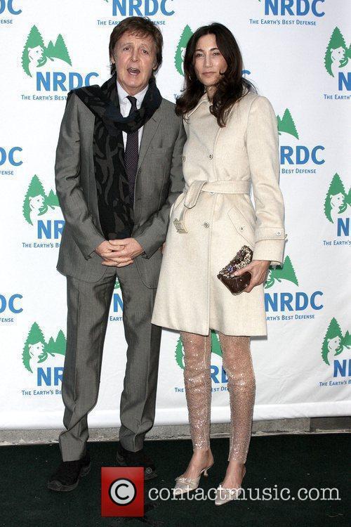 Sir Paul McCartney and Nancy Shevell 8