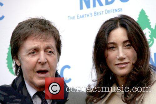 Sir Paul McCartney and Nancy Shevell 1