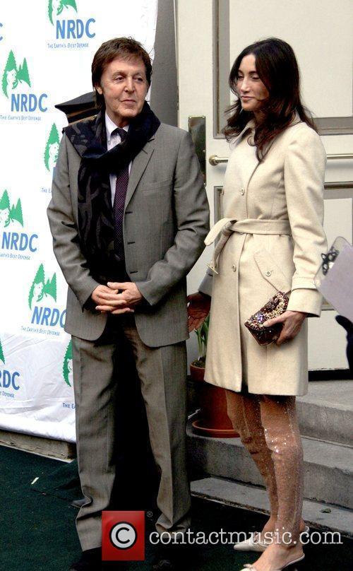 Sir Paul McCartney and Nancy Shevell 9