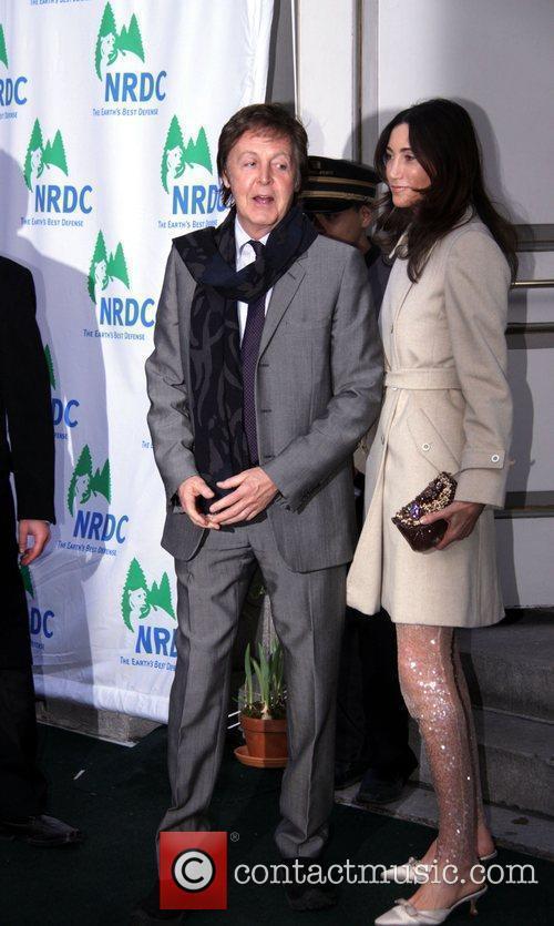 Sir Paul McCartney and Nancy Shevell 11