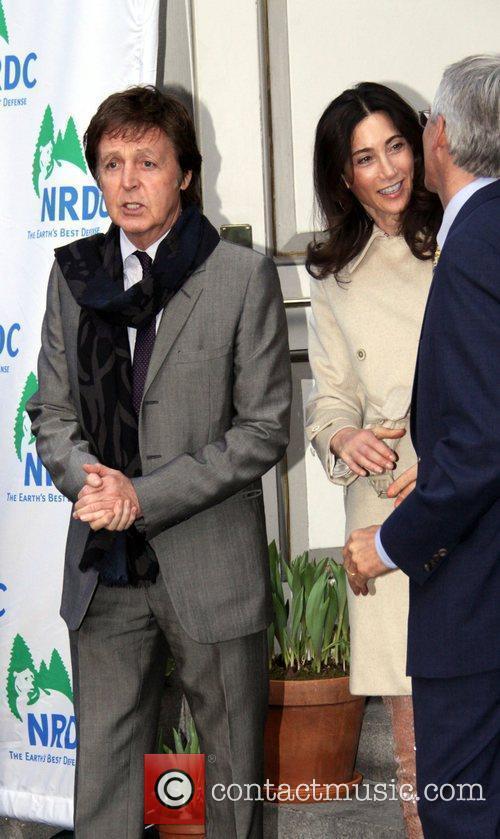 Sir Paul McCartney and Nancy Shevell 12