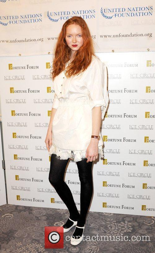 Lily Cole and Dorchester Hotel 2