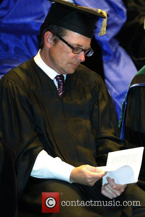 Actor Michael J. Fox receives Honorary Doctor of...
