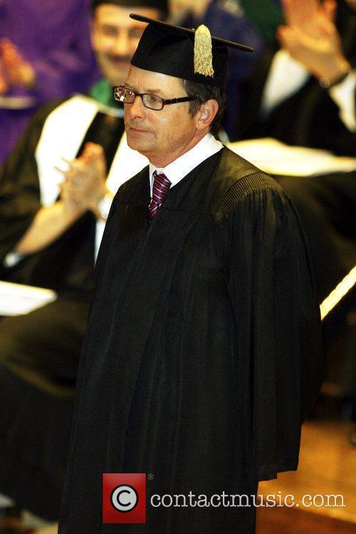 During Mount Sinai School of Medicine's 40th Commencement...
