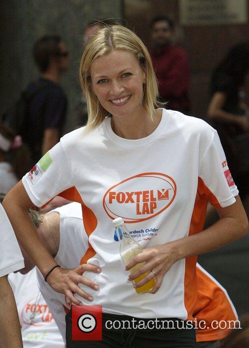 Sarah Murdoch The Foxtel Lap fund-raiser for the...