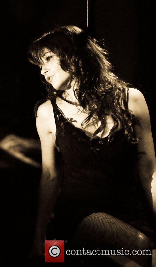 Frances Rufelle 'Beneath The Dress' performance at Madam...
