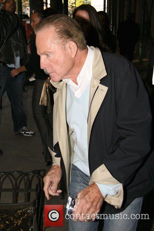 Former NFL player Frank Gifford leaving ABC Studios...