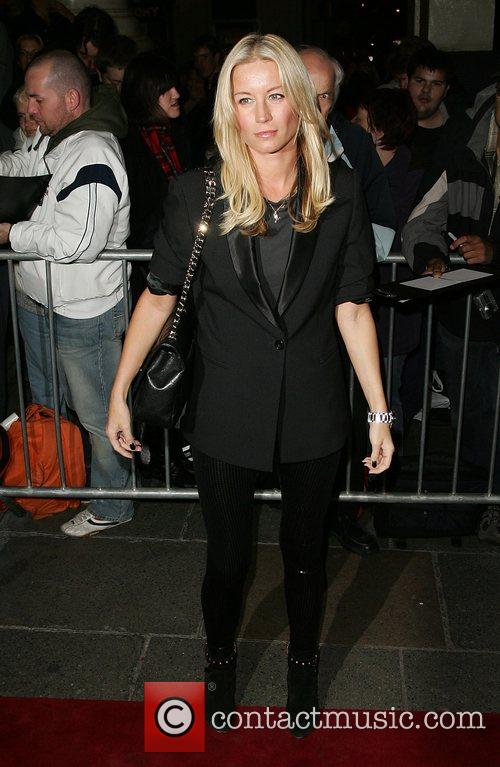 Attends the opening night of 'French and Saunders:...