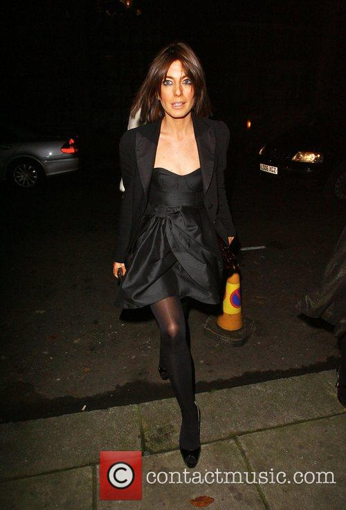 Claudia Winkleman attending the Freud Annual Christmas Party...
