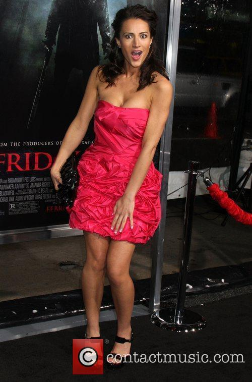America Olivo 'Friday The 13th' Los Angeles Premiere...