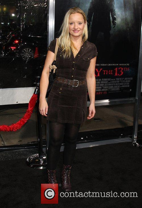 Lucy Davis  'Friday The 13th' Los Angeles...