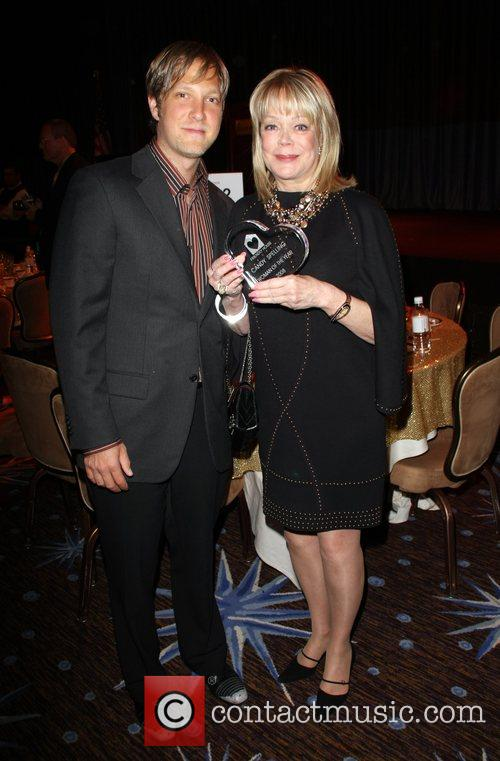 Candy Spelling and Son Randy Spelling 4