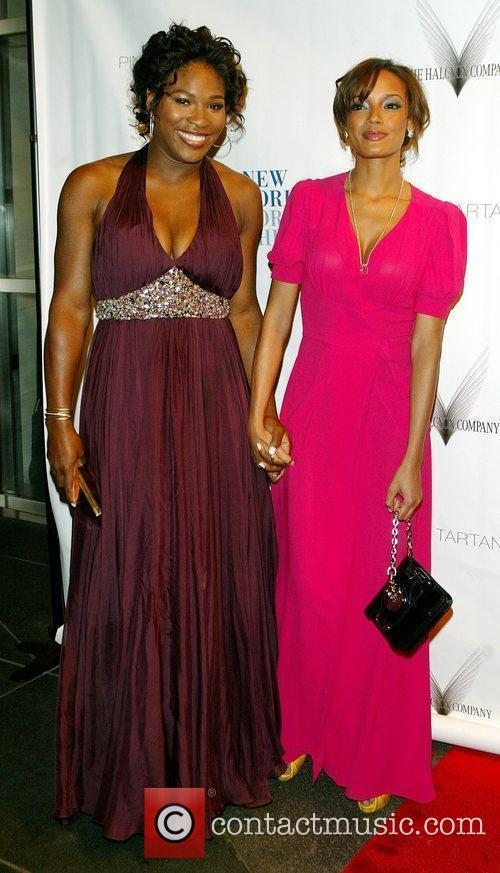 Serena Williams and Selita Ebanks The friends of...