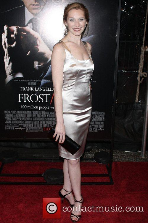 Kate Jennings Grant Premiere of 'Frost/Nixon' at the...