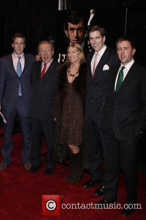 Sir David Frost, and Family Premiere of 'Frost/Nixon'...